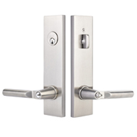 Emtek Singe and Two Point Locks